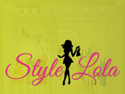 STYLELOLA app branding animation vector illustrator typography illustration design minimal logo