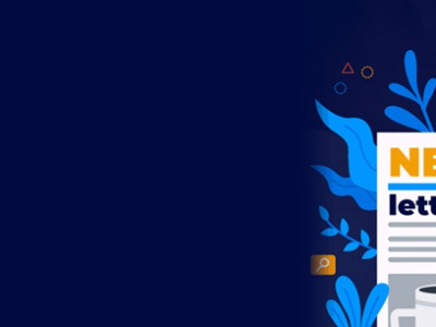 Newsletter Design web app animation illustrator typography minimal illustration
