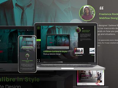 Gean Libiran Portfolio Page portfolio webflow