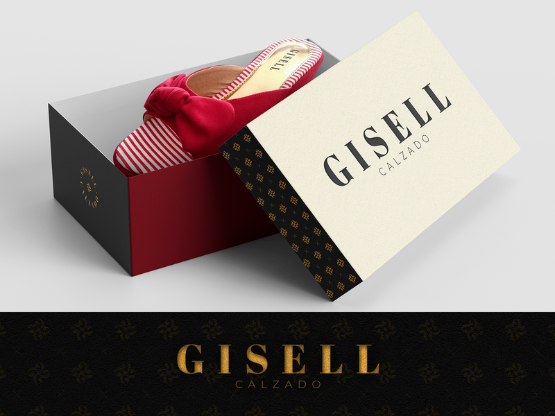 Gisell's Shoes Logo and Branding Design branding fashion shoes logo design