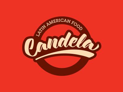 Candela candela foods adelaide latin food red logo branding south australia candela