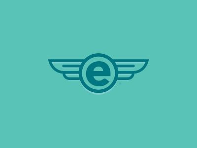 Elicaso fly wings elicaso company brand branding e circle dreams
