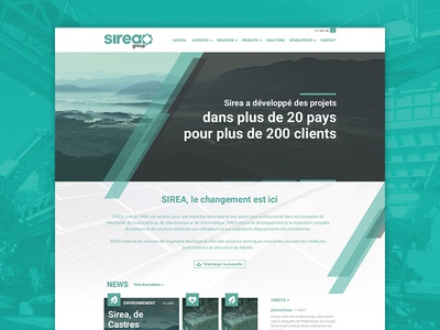 Sirea Group - Redesign Concept