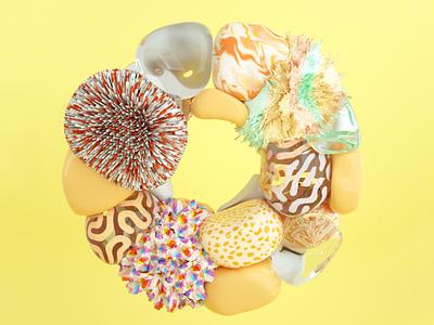 Hues For Days - Sunny Brooke 3d modeling illustration design blender 3d graphic design