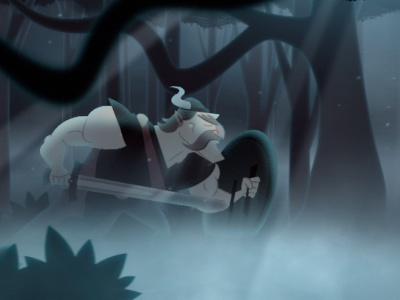 Viking : Frame viking animation