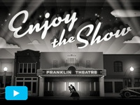 Franklin Theatre Open [vid]