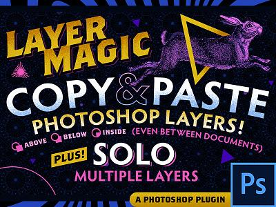 LayerMagic PS Plugin copyandpaste plugin extension photoshop
