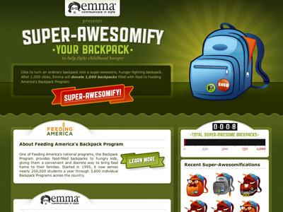 Super-Awesomify sxsw emma backpacks