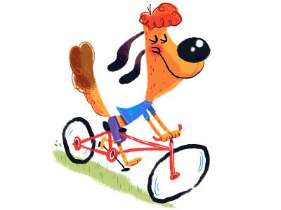 Dog on Bike dog bike