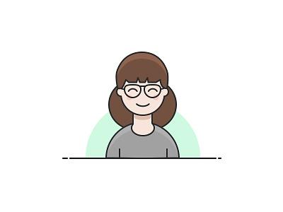 Design exercises: Self-potrait illustration illustration