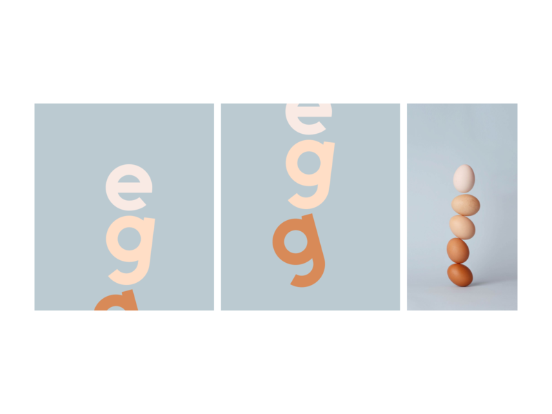 apetino: Egg graphic design illustration typography art typeface design apetino