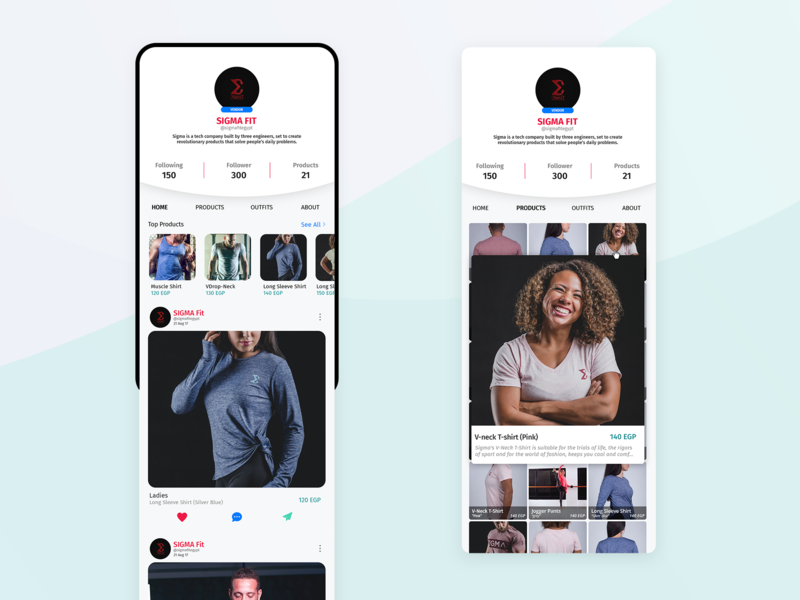 Vendor Screen 1 uiux design fashion fashion app ui twigano