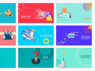 Tazmon Company Profile deck design digital agency profile company profile