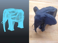 First 3D Model and Print