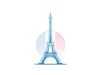 Pray for Paris invite icon flat tower bomb attack eiffel terrorist france paris for pray