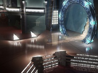 Stargate Atlantis Gate Room | 3D model