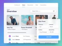 Users Dashboard | Interface