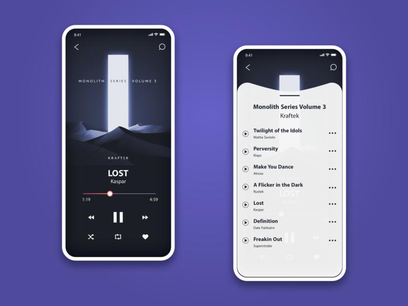 Daily UI #009 dailyui 009 music app ui design ui dailyui