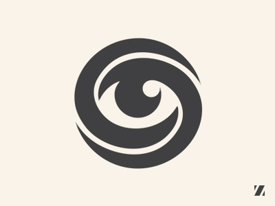 eye of mobius logo by jan zabransky dribbble