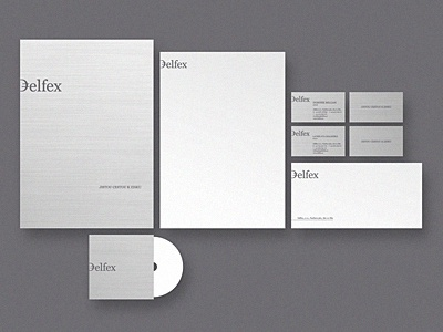 Delfex stationery