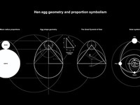 Hen egg geometry and proportion symbolism