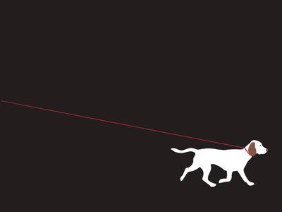 Walking dog walking animation gif drawing illustration