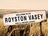 You'll never leave! bbc comedy tv show aftereffects never leave animation gif