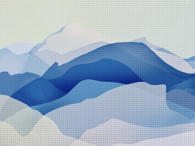 Ordinary miracle mountains background procreate miracle design drawing illustration