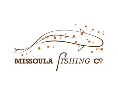 Missoula Fishing Logo vector illustration fish logo