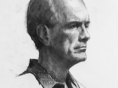 Portrait portrait sketch drawing