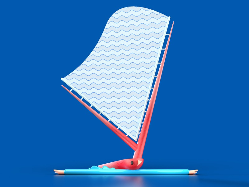 Letter Y characterdesign typography 3d 36daysoftype 36daysoftypea letter yachting