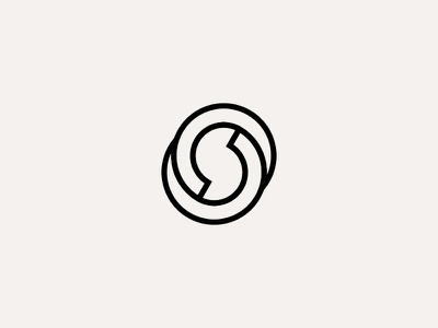 S vector design clean logo branding minimalist minimalism monogram outline shapes symbol geometry brand identity architecture adobe illustrator