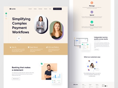Payment - Web Exploration popular agency landing page investment crypto wallet crypto exchange wallet transection mobile app financial app bank app finance fintech payment agency website landingpage concept clean ui uiux