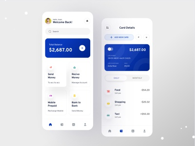Finance Mobile Banking App Concept financial ux ui mobile ui mobile app mobile app design financial app app uxui fintech finance app mobile design user interface banking stocks investment bank app