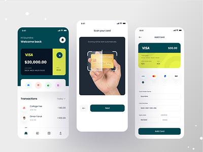 Finance Mobile Banking App uiux clean ui concept money transfer send money bank app investment mobile design finance app banking app fintech finance financial app ux app mobile app design mobile ui