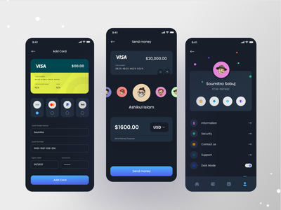 Banking Mobile App nft bitcoin currency app redesign uiux ui bank mobile mobileapp popular transaction wallet fintech app finance app concept fintech mobile app design bankapp banking