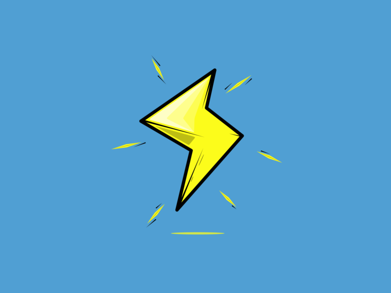 Lightning Bolt power up lightning logo lightning bolt lightning super mario world super mario bros mariokart super mario supermario mario bros mariobros mario vector minimal illustration flat design