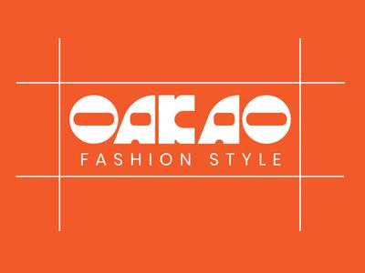Logo OAKAO logobranding logotype logobrand logodesign graphic design graphicdesign vector logo illustration design