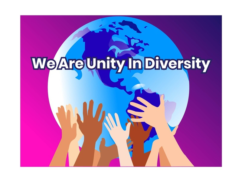 Unity In Diversity flat graphicdesign illustration