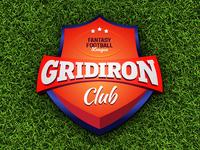 Gridiron Club Badge