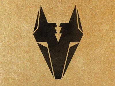 Trikster Mark logo mark coyote identity branding graphic design