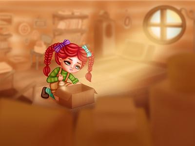 Illustration for a children's book childrens illustration character design childrens book illustration