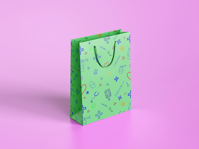 Pattern/bag vector illustraion graphic design graphic pattern