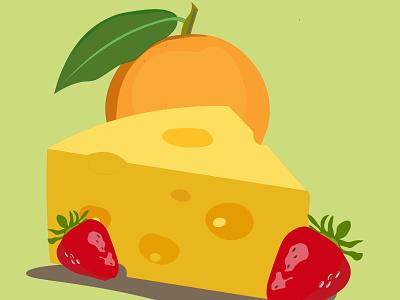 fruit design illustraion graphic adobe illustrator illustration vector graphic design fruit