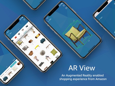 AR View ar kit arkit amazon mobile shopping ecommerce augmented reality ar