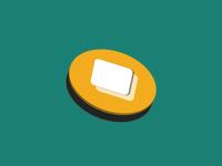 Semi-flat, Minimal Logo Concept minimalism minimalist logo minimal illustrator application appdesign app branding vector illustration logo design