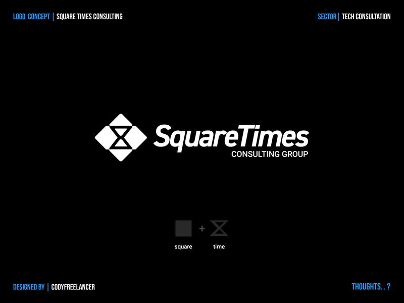 Logo Concept (SquareTimes) logo branding logo creator logo concepts logo concept branding concept logodesign dribbble design brand identity logos graphic designer