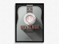 Open Mic Night Poster