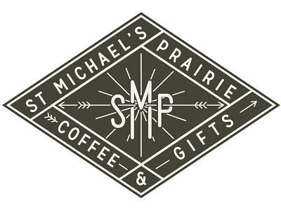 SMP Logo smp st joseph restoration coffee church mo missouri st jo campy diamond vintage badge