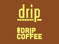 Coffee Shop logomark concepts